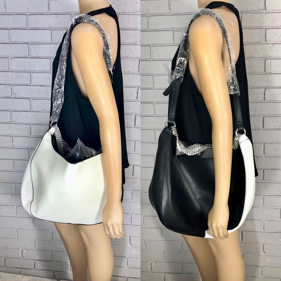 ad424a18fe Zara Women's Black And White Shoulder Bag